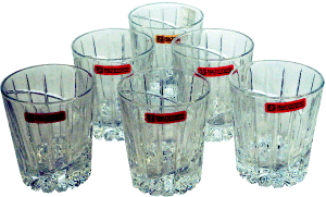 Natchtmann 6 Pcs Crystal Glass Set