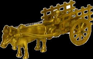 Brass Big Bail Gadi Figure