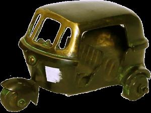 Brass Auto Figure 3″