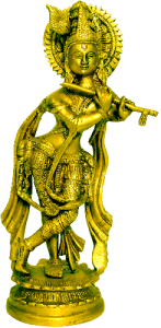 Krishna Brass Figure 11″