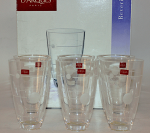 Crystal 6/36cl Glass Set