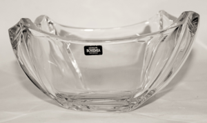 14″ Crystal Round Bowl
