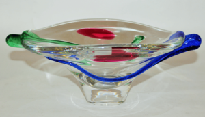 Crystal Round Bowl