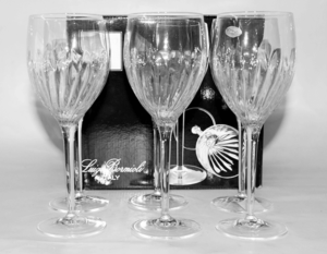 Crystal 6 Pcs Glass Set